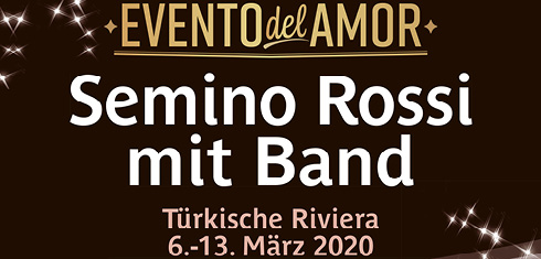 Semino Rossi mit Band - Fanreise Türkei