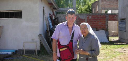 Schwester María Jordán und Semino Rossi